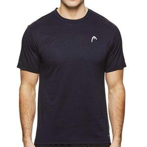 HEAD Men's Crewneck Gym Training & Workout T-Shirt
